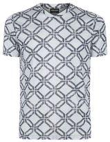 Giorgio Armani Geometric Silk T-shirt