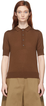 Studio Nicholson Brown Tolsa Polo