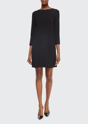 The Row Marina 3/4-Sleeve Shift Dress
