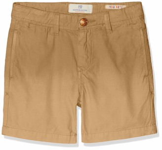 Scotch & Soda Shrunk Boy's Lightweight Chino Shorts with Washing Trouser
