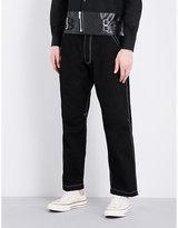 Comme Des Garcons Shirt Regular-fit Contrast Stitch Jeans