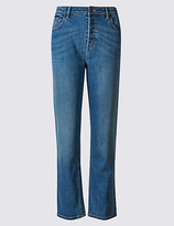 M&S Collection Mid Rise Cropped Jeans