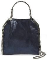 Stella McCartney 'Mini Falabella' Faux Leather Crossbody Bag - Blue