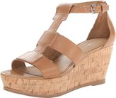 Franco Sarto Women's Falco Wedge Sandal,Camelot,10 M US