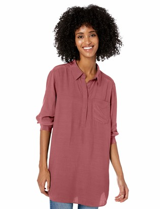Goodthreads Viscose Popover Tunic Shirt
