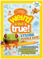 National Geographic Weird But True! Sticker Doodle Book