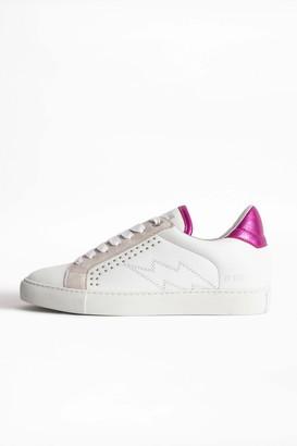 Zadig & Voltaire ZV1747 Metallic Sneakers