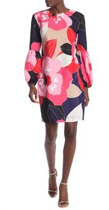 Trina Turk Sightseeing Floral Print Dress