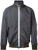 Sacai ime & 1 World bomber jacket - men - Cotton/Polyester - 2