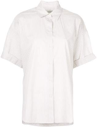 Lee Mathews Riley boxy short sleeve shirt