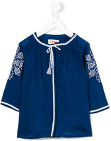 Maan - embroidered blouse - kids - Cotton - 2 yrs