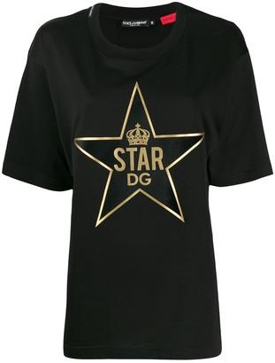Dolce & Gabbana DGStar patch T-shirt