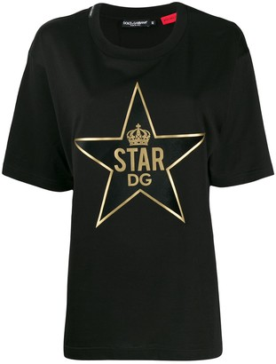 Dolce & Gabbana DGStar patch T-shirt