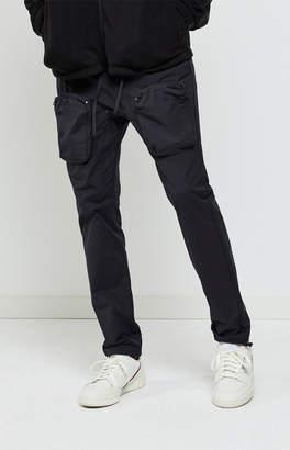 Pacsun PacSun Workwear Black Nylon Slim Cargo Pants