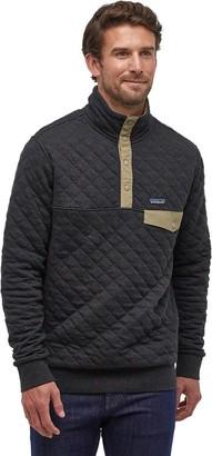 Patagonia Organic Cotton Quilt Snap-T Fleece Pullover - Men's