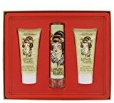 Ed Hardy 3 Piece Love & Luck Eau De Toilette Set for Women