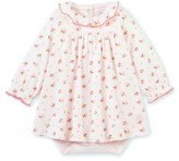 Petit Bateau Baby girls printed bodysuit dress