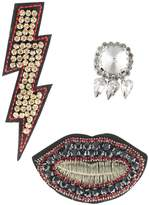 sweet deluxe SET FLASH LIPS STONE Other schwarz
