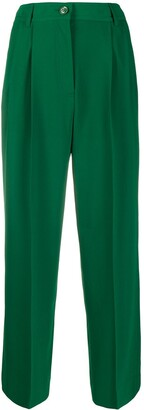See by Chloe High-Waisted Pleated Trousers