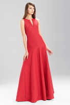 Josie Natori Italian Texture Sleeveless Dress