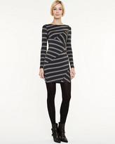 Le Château Multi-stripe Rayon Jersey Dress