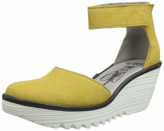 Fly London Women's YAND709FLY Ankle Strap Heels