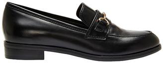 Wallis Jane Debster Black Hi Shine Loafer