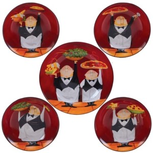 Certified International Waiters 5-Pc. Pasta Sets