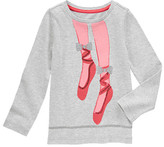 Gymboree Sequin Glitter Ballet Shoes Tee