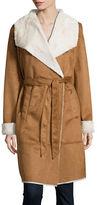 Vero Moda Faux Suede Robe Coat