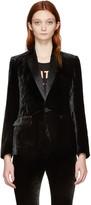 DSQUARED2 Black Velvet London Blazer