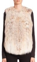 The Fur Salon Fur Vest