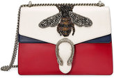 Gucci Dionysus embroidered leather shoulder bag - women - Leather/metal/Microfibre - One Size