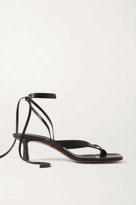 Neous Situla Leather Sandals - Black