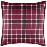 Laura Ashley Ella Square Throw Pillow in Cranberry