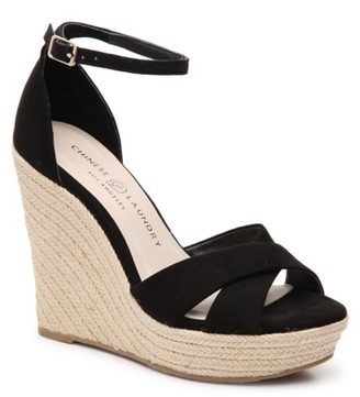 Chinese Laundry Morgan Espadrille Wedge Sandal