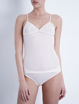 Bodas Sheer Tactel camisole