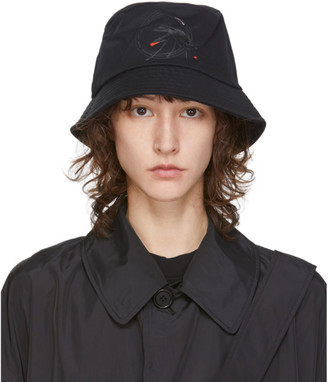 Random Identities Black Canvas Bucket Hat
