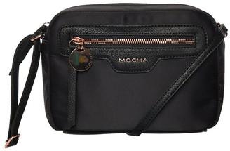 Mocha Kimi Black Box Crossbody Bag