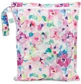 Bumkins Pink Watercolor Wet Bag
