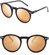 Wildfox Couture Steff Deluxe Mirror Sunglasses, 50mm
