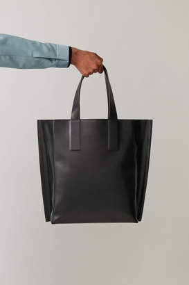 Cos LEATHER TOTE BAG