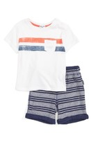 Splendid Infant Boy's Pocket T-Shirt & Shorts Set