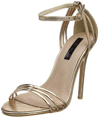 11cb53cb70 Gold Wide Fit Heels - ShopStyle UK