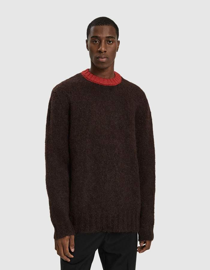 Marni Sweater in Bordeaux Red