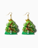 Charming charlie Light Up Christmas Tree Drop Earrings