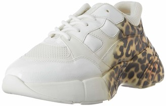 Pinko Women's Rubino Animalier Slip On Trainers