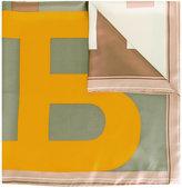 Bally - B print scarf - women - Soie
