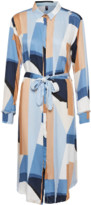 Culture Blue Graphic Curigmor Dress - XS