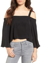 The Fifth Label Women's In Full Light Cold Shoulder Top